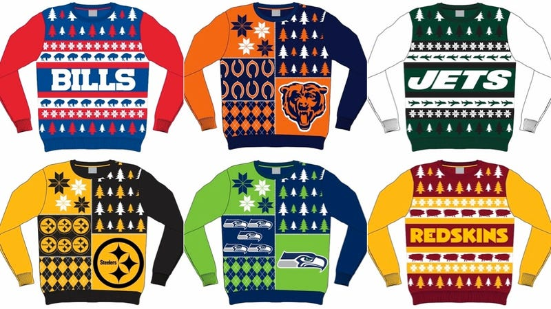 Illustration for article titled Get Your Ugly NFL Sweaters