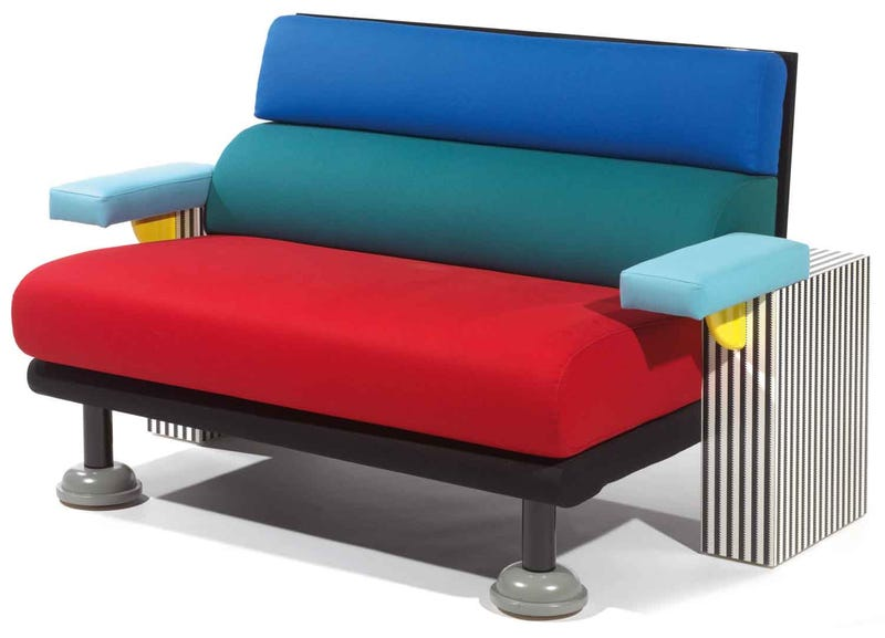 Why a once hated 1980s design movement is making a comeback for 1980s chair