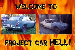 Illustration for article titled Project Car Hell: IRS-ized V8 MGB-GT or 1963 Studebaker Avanti?