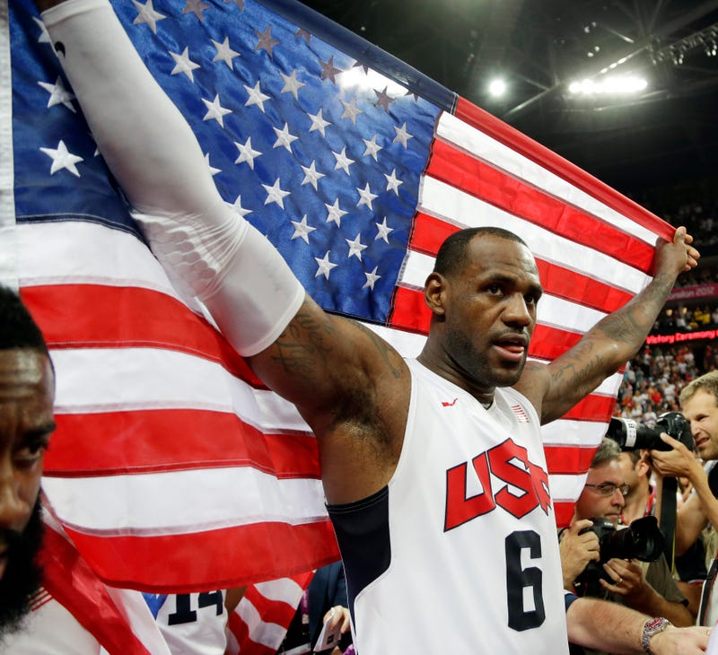 Illustration for article titled LeBron James Is Done Playing For Team USA, Unless He Wants To
