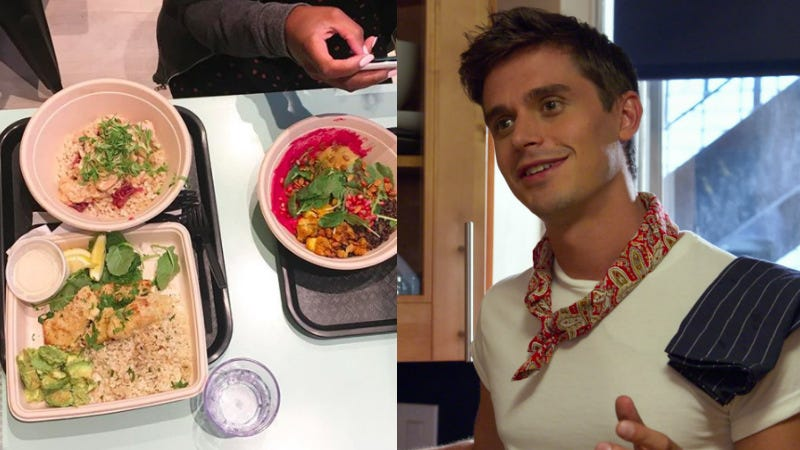 Illustration for article titled 'Seems Like It Needs Flavor': 3 Jezebel Queer Eye Experts Review Antoni's Dry New Restaurant