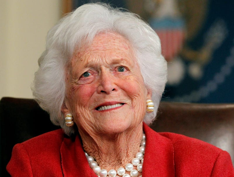 Illustration for article titled Barbara Bush Passes Away Surrounded By Loved Ones, Jeb