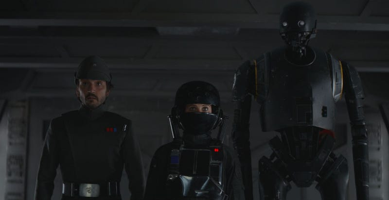 Illustration for article titled Everyone Is Geeking Out in This New Rogue One Video
