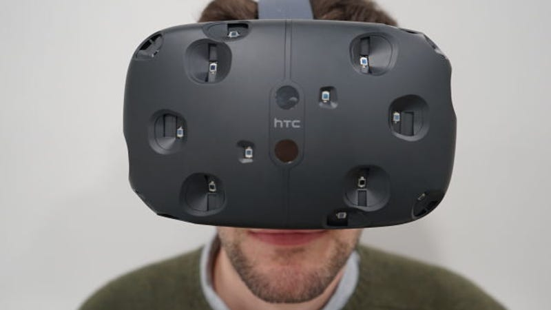 HTC Vive: Virtual Reality That's So Damn Real I Can't Even ...
