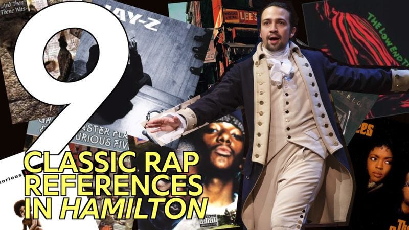 Illustration for article titled Genius decodes Hamilton's numerous references to classic hip-hop