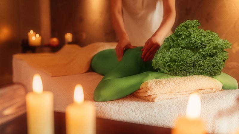 Massaging kale isn't B.S.