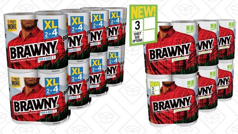 Brawny Paper Towel Gold Box | Amazon