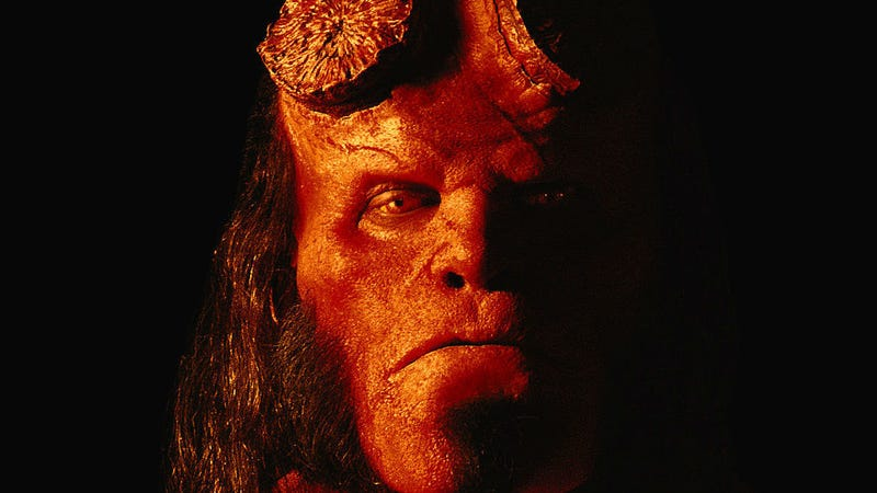 David Harbour as Hellboy. Image: Lionsgate