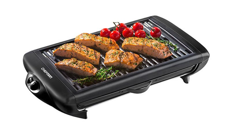 Illustration for article titled Save 50% On The Chefman Smokeless Indoor Grill ($39)