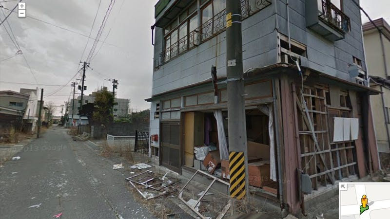 Illustration for article titled Google Street View Just Added Haunting Panoramas From the Fukushima Exclusion Zone