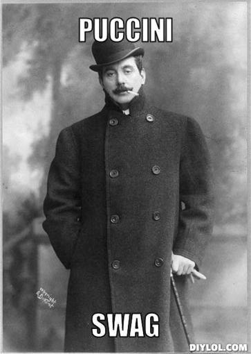Illustration for article titled Puccini színpadi művei