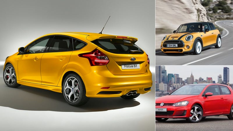 Illustration for article titled If You Want A Reliable Car, Don't Buy A Hot Hatch