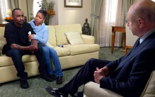 Nick Gordon; his mother, Michelle; and Dr. Phil McGraw, TV's Dr. Phil DR. PHIL