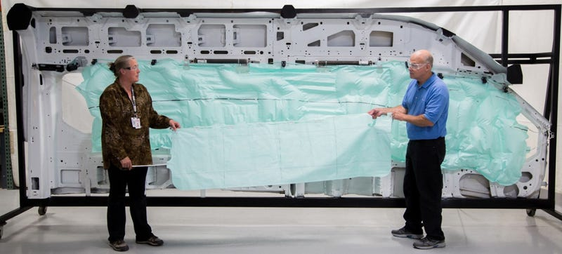 Illustration for article titled Ford Transit Van Has The Biggest Airbag Ever