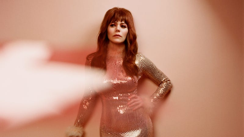 Illustration for article titled Singing like she never has before, Jenny Lewis puts it allOn The Line