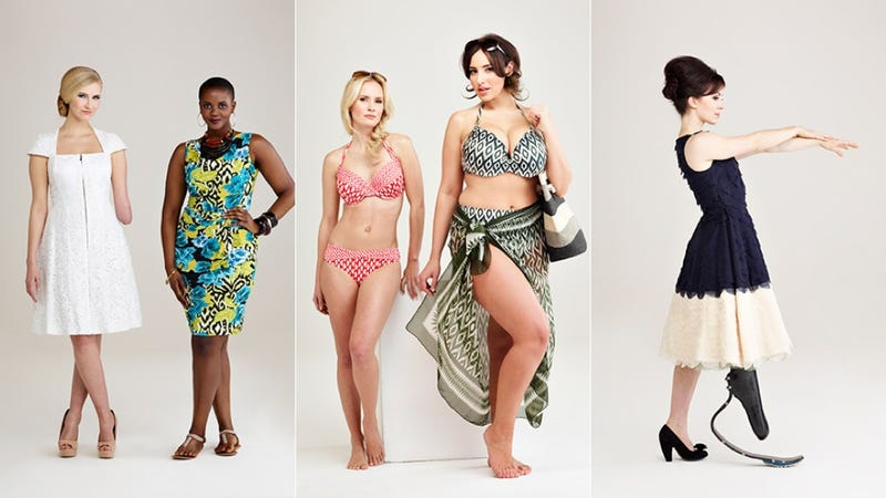 Illustration for article titled Here Are Some Awesome Models With Bodies You Never See In Fashion