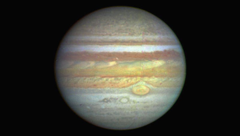 Illustration for article titled Jupiter's Liberals Worried About Their Ammonia Footprint