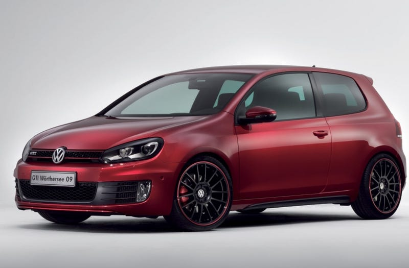 Illustration for article titled VW Unveils Berry-Flavored Golf GTI, Polo Wörthersee Concepts