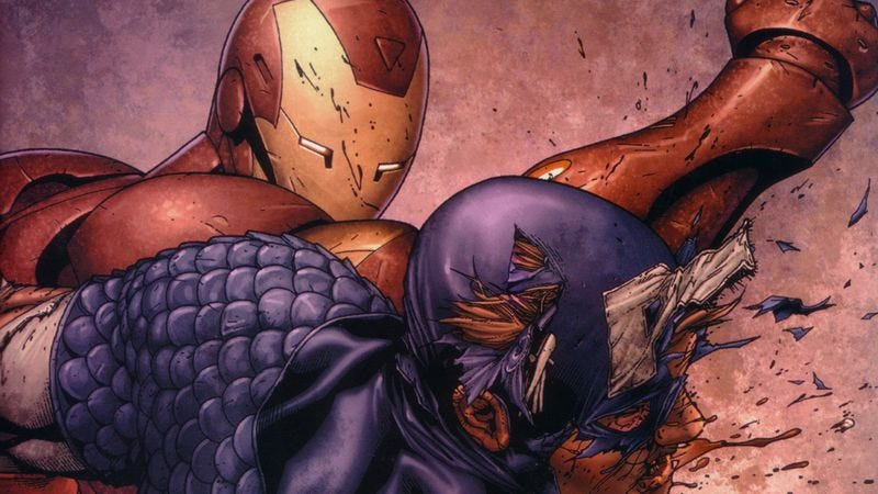 Illustration for article titled The Marvel movies are declaring a Civil War