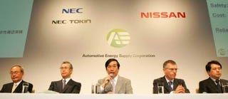 Illustration for article titled Nissan Partners With NEC For Battery Factory, Claims Of EV by 2010 Maybe Not BS?
