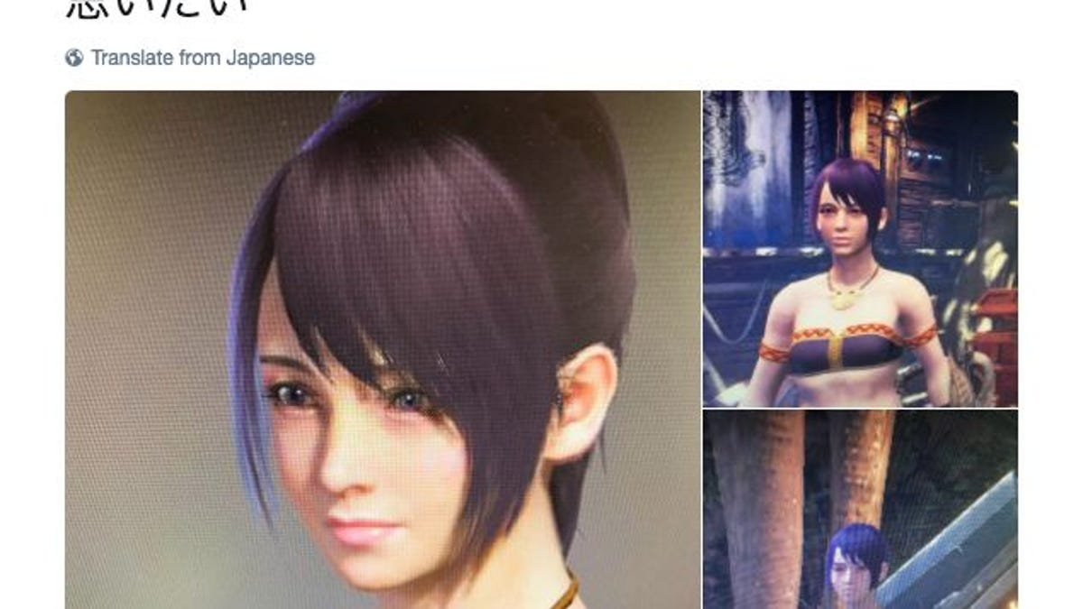 When Your Monster Hunter: World Character Looks Different In-Game