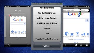 Illustration for article titled Privata Is a Quick Toggle Private Browsing Mode for Mobile Safari