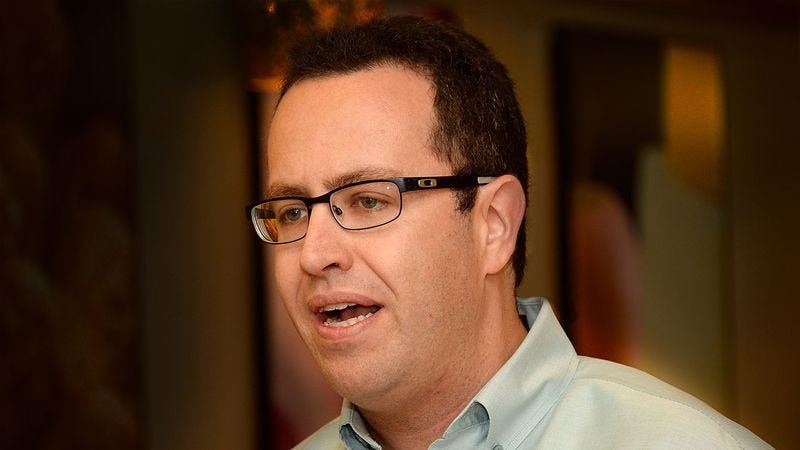 Illustration for article titled Making Amends: Jared Fogle Is Atoning For His Crimes By Mailing Letters To Children Telling Them He Never Wants To See Them Naked