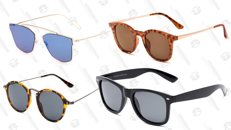 Buy one, get one 60% off   Sunglass Warehouse   Use code BOGO60