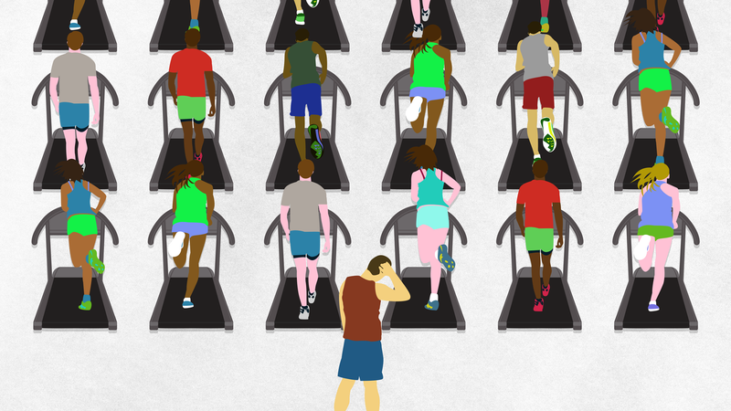 Illustration for article titled Five Ways to Work Out in the Gym When It's Crazy Packed