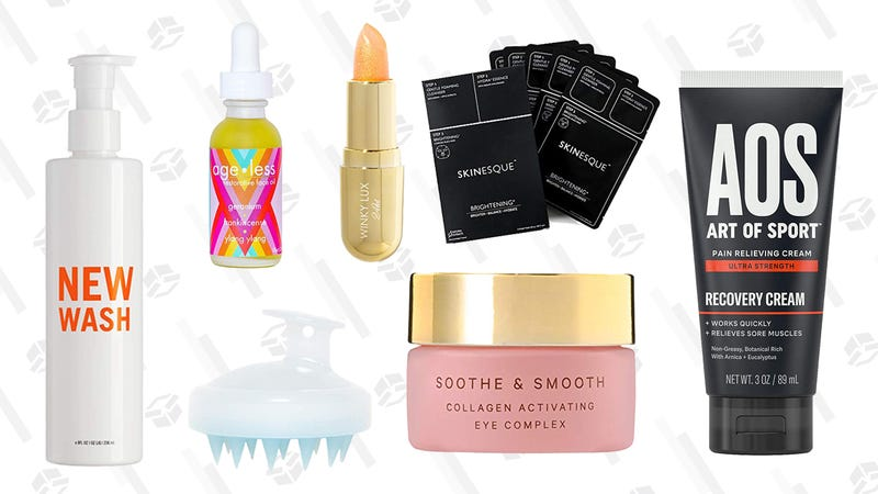 Indie Beauty Gold Box | Amazon