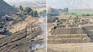 Illustration for article titled A 5,000 year-old pyramid has been completely levelled in Peru