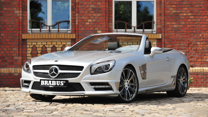 Illustration for article titled Brabus Mercedes SL: First Photos