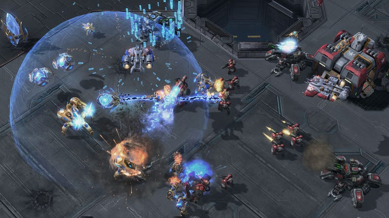 Illustration for article titled How StarCraft II: Heart of the Swarm's New Units Will Balance Multiplayer