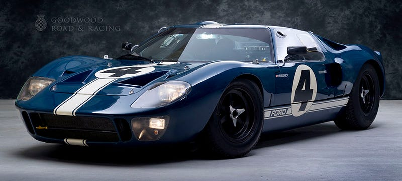 Illustration for article titled This Ford GT40 Is An Active Racer