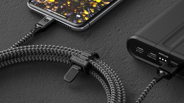 Nomad s Super Long Kevlar Charging Cable Makes Quarantine a Little Bit Easier