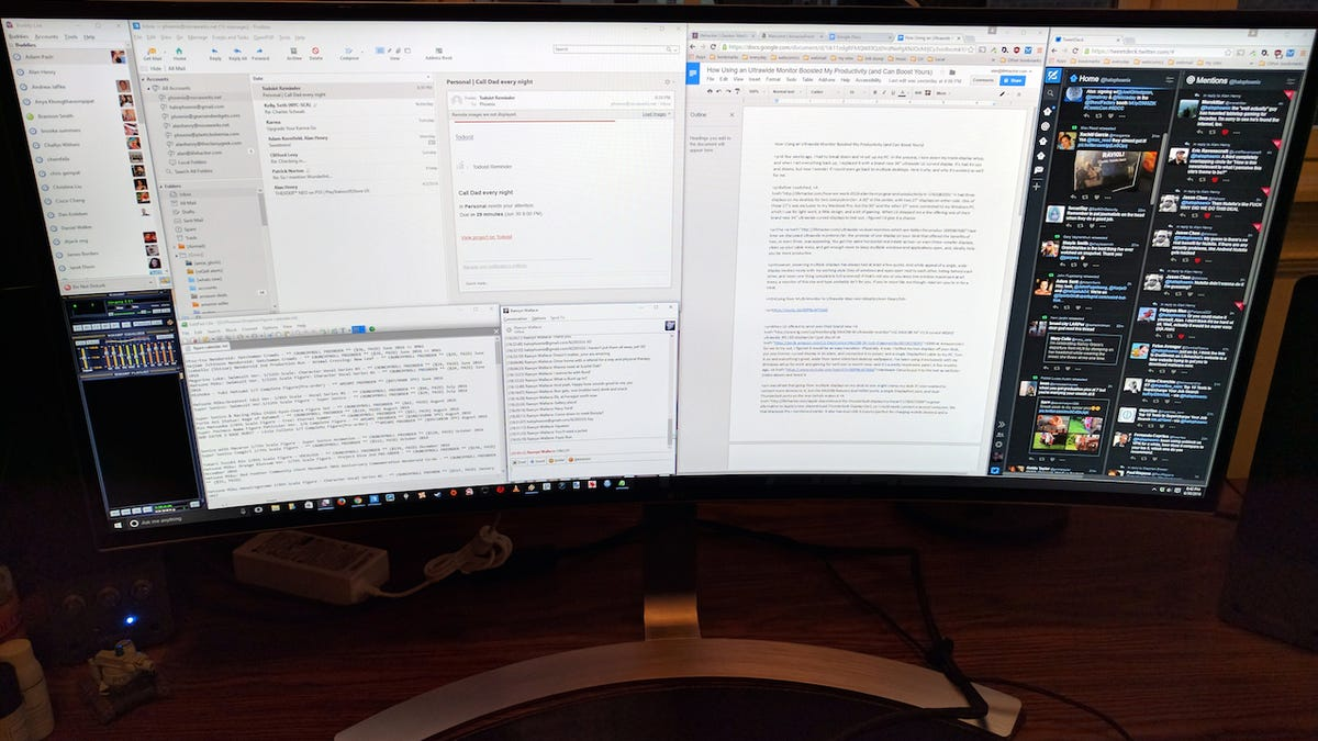 How Using an Ultrawide Monitor Boosted My Productivity (and