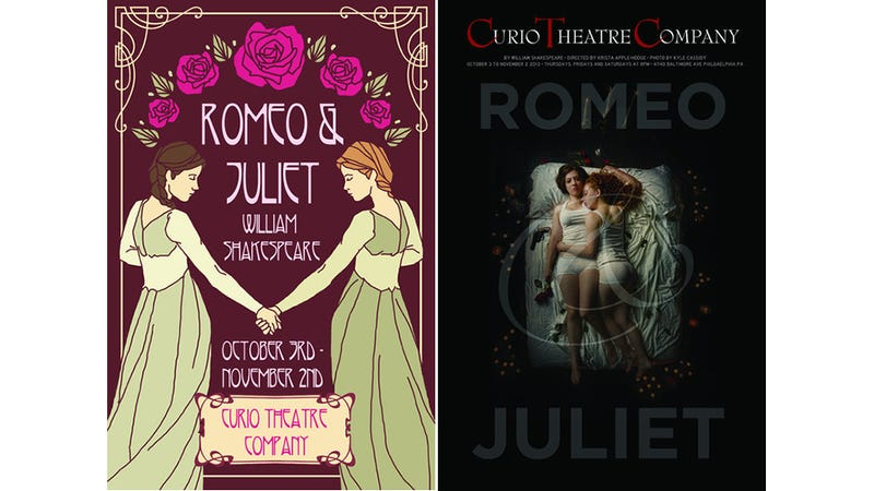Illustration for article titled This Production of Romeo and Juliet Has  Lesbian Twist