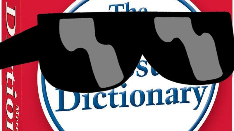 """Illustration for article titled Dictionary adds """"selfie"""" and """"dubstep,"""" is even cooler now"""