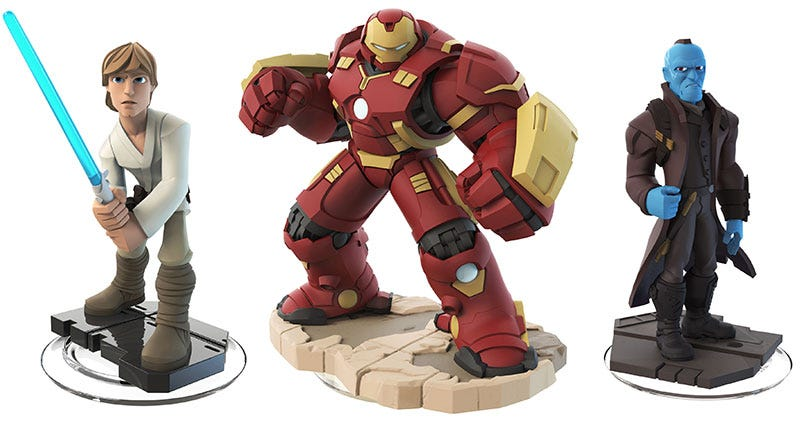 Illustration for article titled Disney Infinity's Toys Are Just The Best