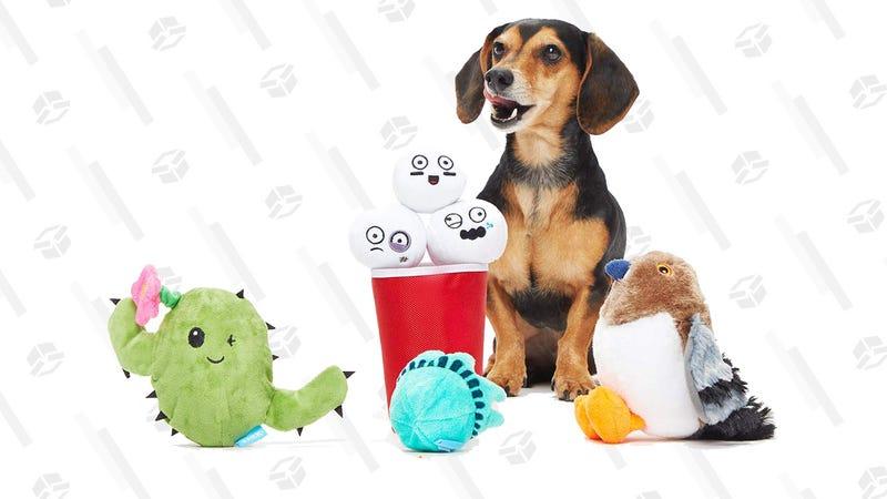 BarkBox Plush Toy Bundle, Large or Small/Medium Dogs | $25 | Amazon