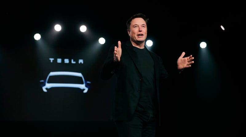 Tesla CEO Elon Musk in March 2019.