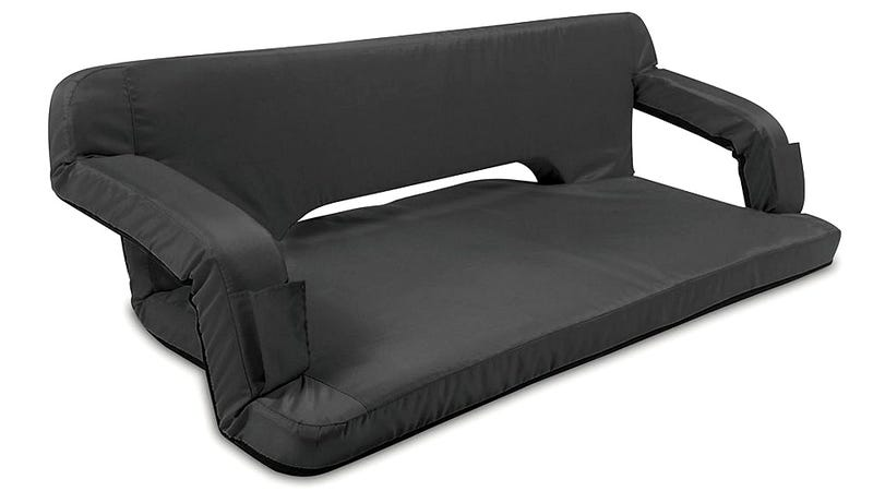 Illustration for article titled Mankind's Crowning Achievement Might Be This Sofa That Folds Into a Briefcase