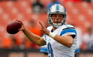 Illustration for article titled Mic'd-Up Matt Stafford Was Very Confused By That Reversed PI Call
