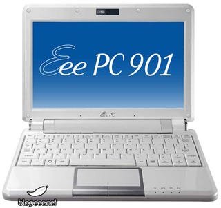 Illustration for article titled Atom-Based Asus Eee PC 901 Ships June 3 With Bluetooth