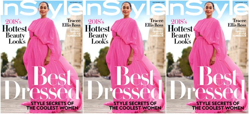 Illustration for article titled Best Dressed and Unbothered: Tracee Ellis Ross Covers InStyle's November Issue