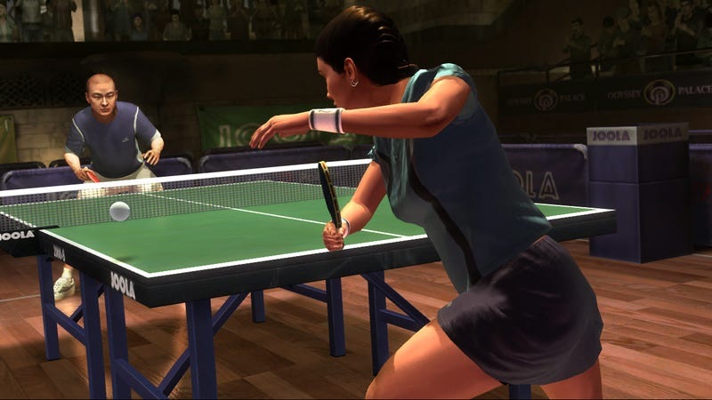 Illustration for article titled That Time Rockstar Made A Table Tennis Game