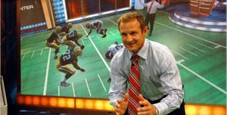 "Illustration for article titled Merril Hoge Will Say ""Factorback"" As Often As He Damn Well Pleases, OK?"