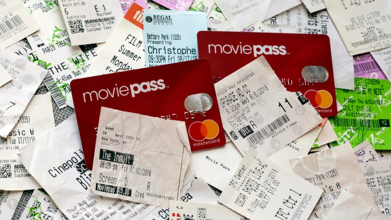Illustration for article titled MoviePass Customers: Check Your Credit Card Statements for Fraudulent Charges