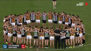 AFL Teams Perform Moving Postgame Tribute To Murdered Coach