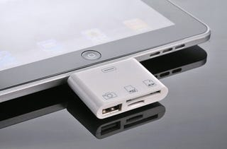 Illustration for article titled The 3-in-1 iPad Camera Connection Kit